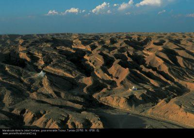 Marabouts dans le Jebel Krefane