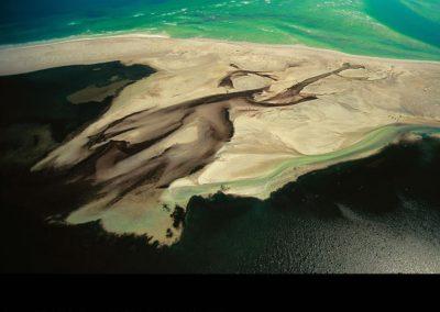 Lagune sur l'île de Djerba
