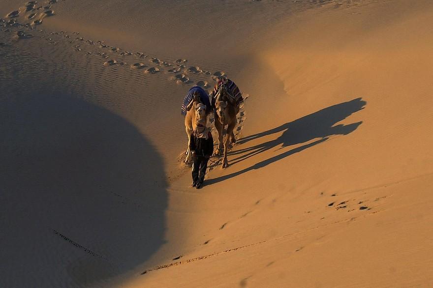 Le désert tunisien - FETHI BELAID / AFP