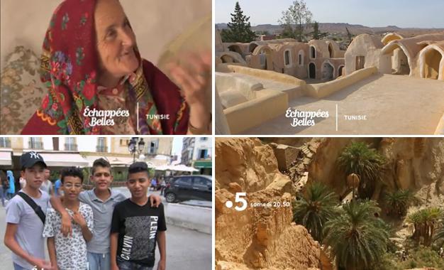 La Tunisie dans Échappées belles